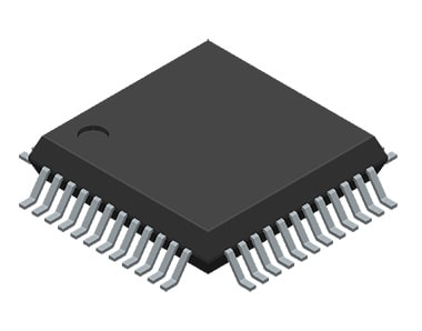 3D Model of an electronic component